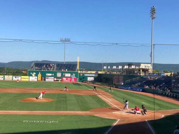 Medlar Field at Lubrano Park, section: 103, row: 14, seat: 2