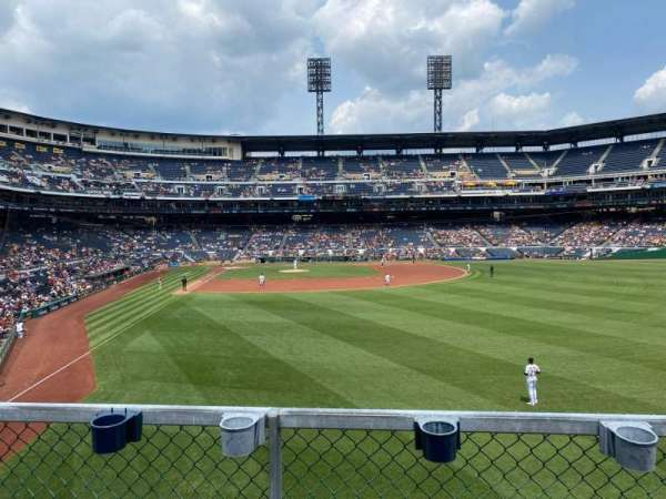 PNC Park, section: 144, row: B, seat: 11