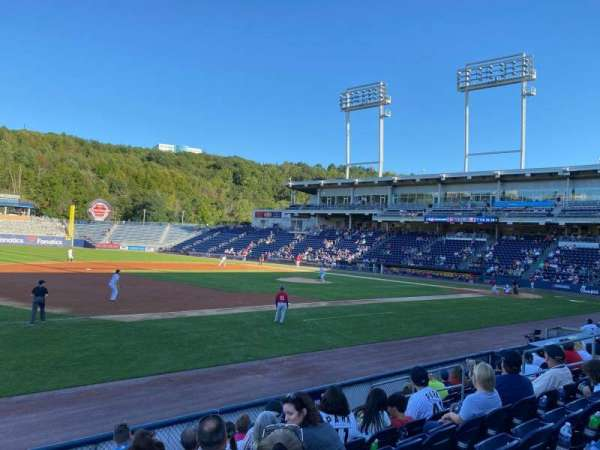 PNC Field, section: 28, row: 8, seat: 15