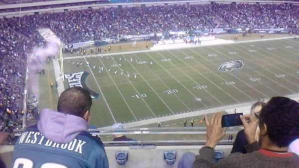 Lincoln Financial Field, section: 241, row: 8, seat: 17