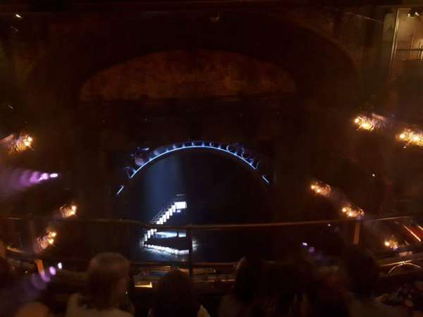 Palace Theatre (West End), section: Balcony, row: C, seat: 17