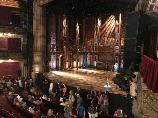 CIBC Theatre, section: Dress Circle Box 2, row: BX2, seat: 202, 204