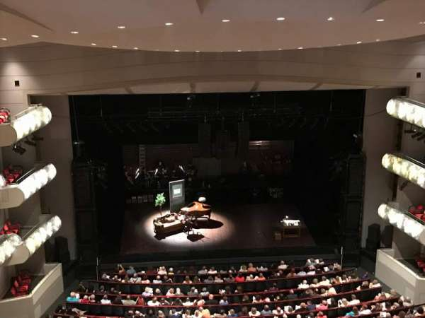 Kauffman Center for Performing Arts, section: Balcony, row: GZ, seat: 109