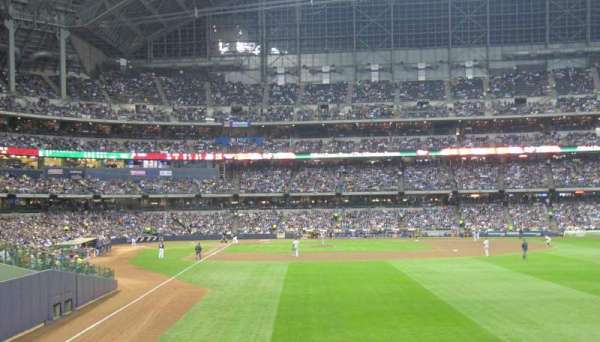 Miller Park, section: 103