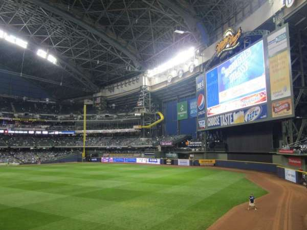 Miller Park, section: 104