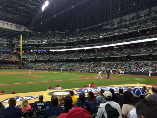 Miller Park, section: 122, row: 11, seat: 11