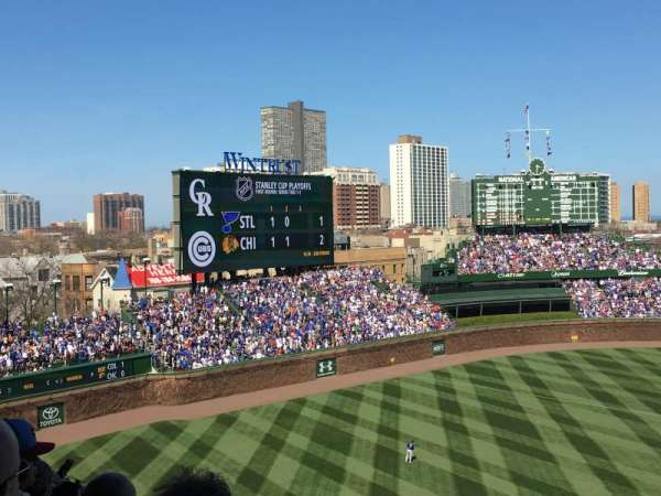 Wrigley Field, section: 309L, row: 8, seat: 11