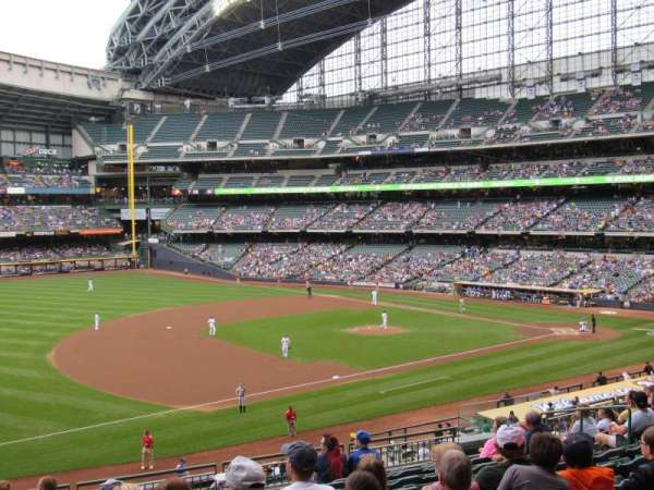 Miller Park, section: 227, row: 11, seat: 13