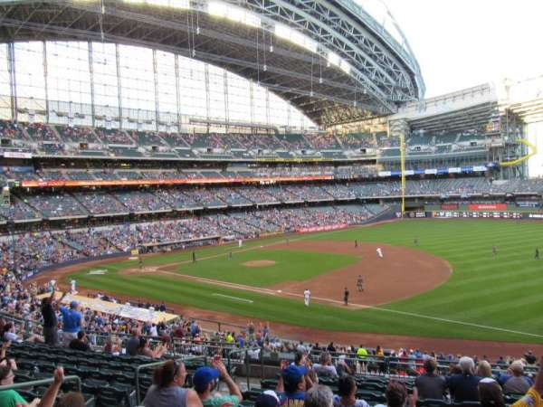 Miller Park, section: 210, row: 11, seat: 6