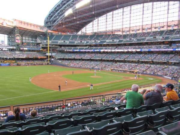 Miller Park, section: 227, row: 6, seat: 11