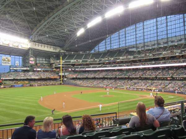 Miller Park, section: 227, row: 5, seat: 6