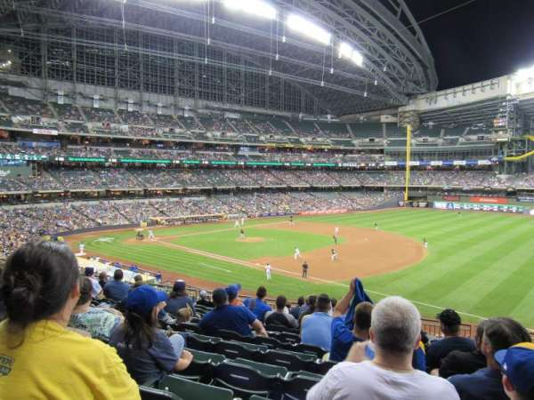 Miller Park, section: 210, row: 11, seat: 16