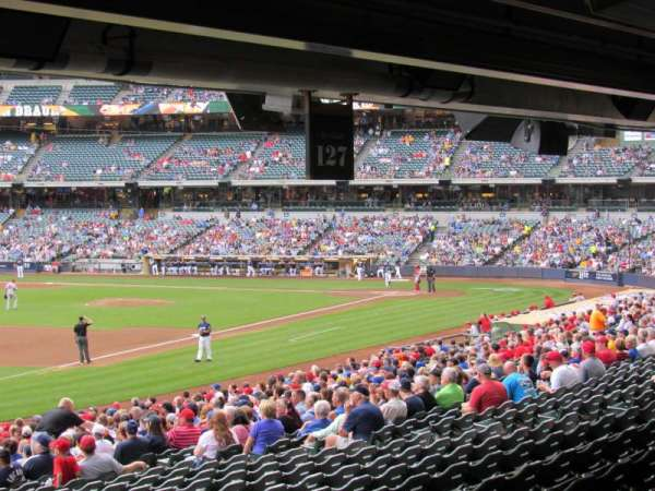 Miller Park, section: 127, row: Standing Room, seat: Standing Room