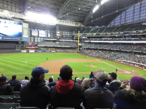 Miller Park, section: 225, row: 13, seat: 4