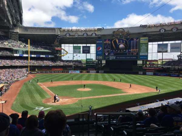 Miller Park, section: 217, row: 8, seat: 20