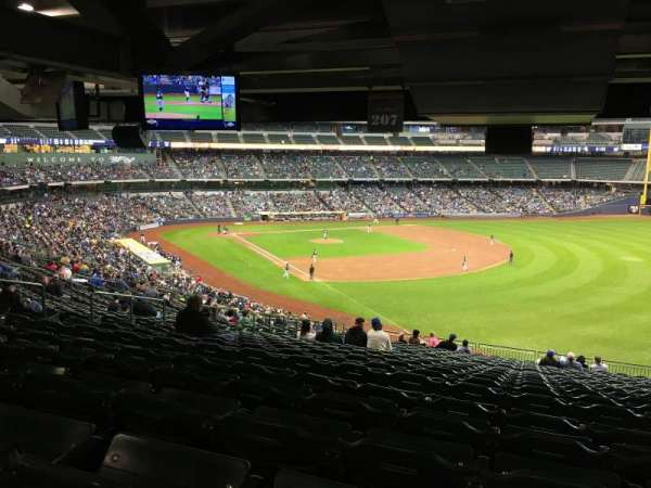 Miller Park, section: 207, row: SRO, seat: SRO