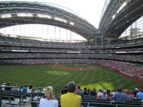 Miller Park, section: 236, row: 16, seat: 18
