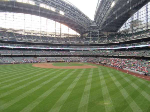 Miller Park, section: 237, row: 1, seat: 14