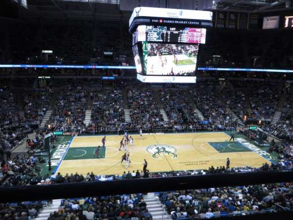 BMO Harris Bradley Center, section: 401, row: A, seat: 5