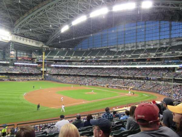 Miller Park, section: S227, row: 7, seat: 12
