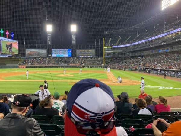 Guaranteed Rate Field, section: 136, row: 11, seat: 6