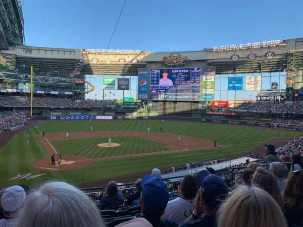Miller Park, section: 216, row: 7, seat: 6