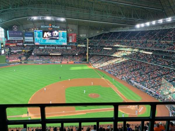 Minute Maid Park, section: 413, row: 1, seat: 11
