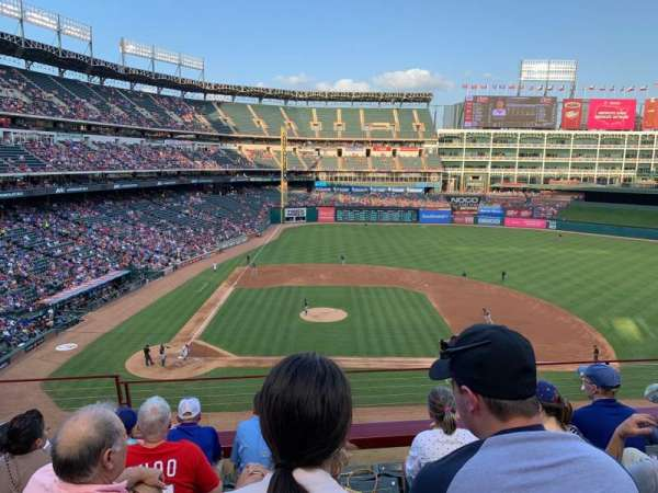 Globe Life Park in Arlington, section: 232, row: 5, seat: 4