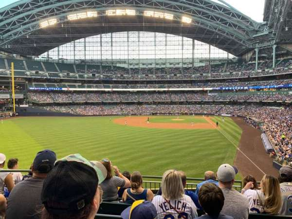 Miller Park, section: 234, row: 6, seat: 16