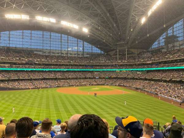 Miller Park, section: 238, row: 8, seat: 6