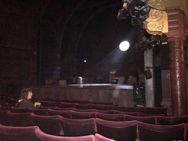 Palace Theatre (West End), section: Stalls, row: G, seat: 3