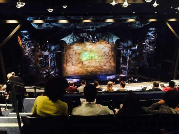 Gershwin Theatre, section: Rear Mezzanine C, row: K, seat: 101