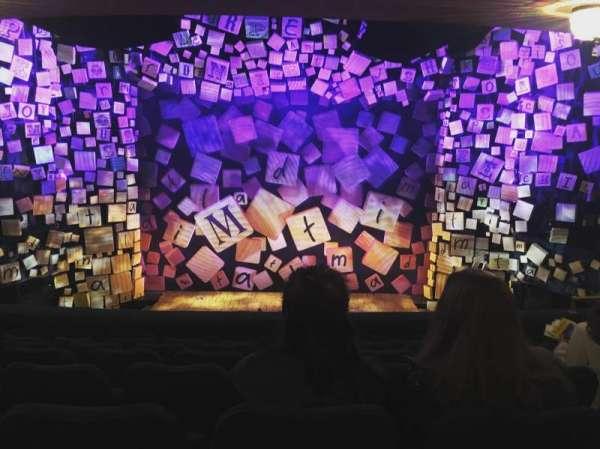 Shubert Theatre, section: Mezzanine C, row: G, seat: 107