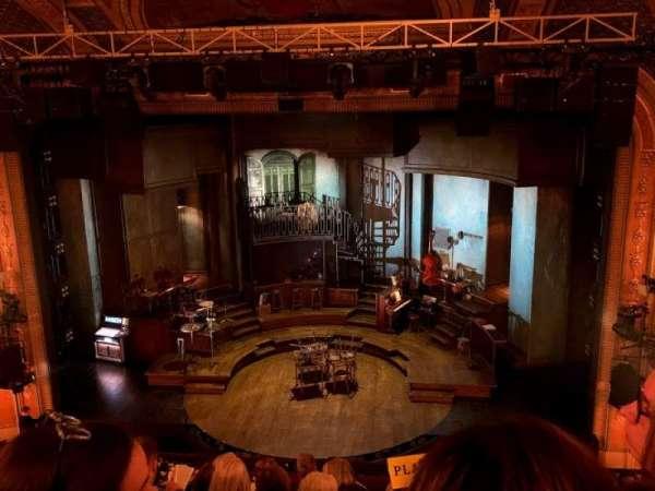 Walter Kerr Theatre, section: Mezzanine C, row: H, seat: 103