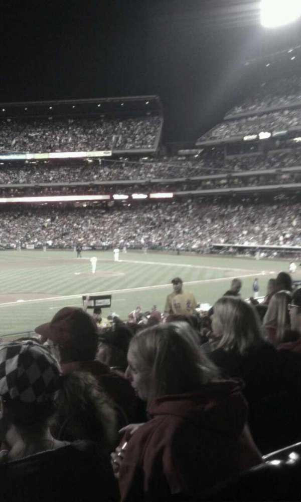 Citizens Bank Park, section: 133, row: 32, seat: 14