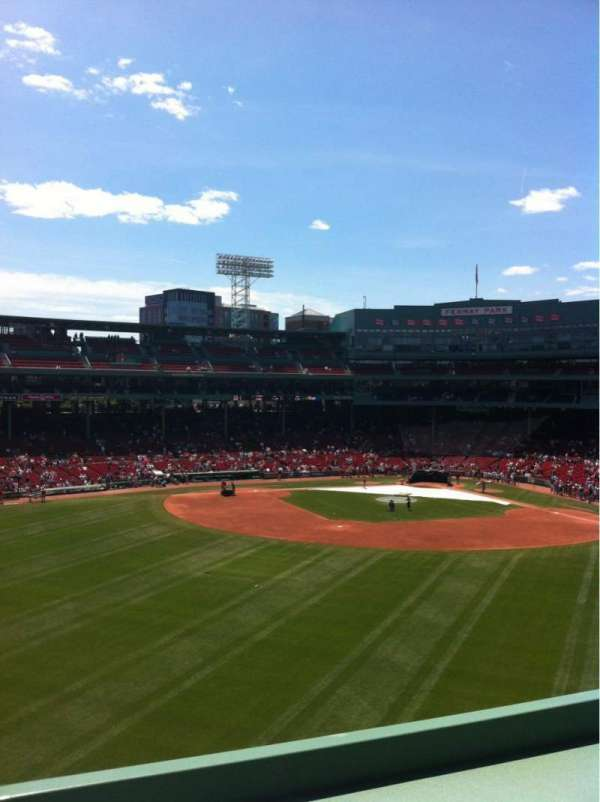 Fenway Park, section: Green Monster 9