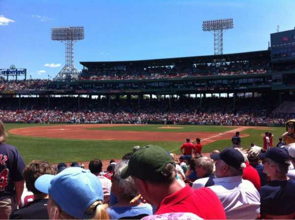 Fenway Park, section: Field Box 81