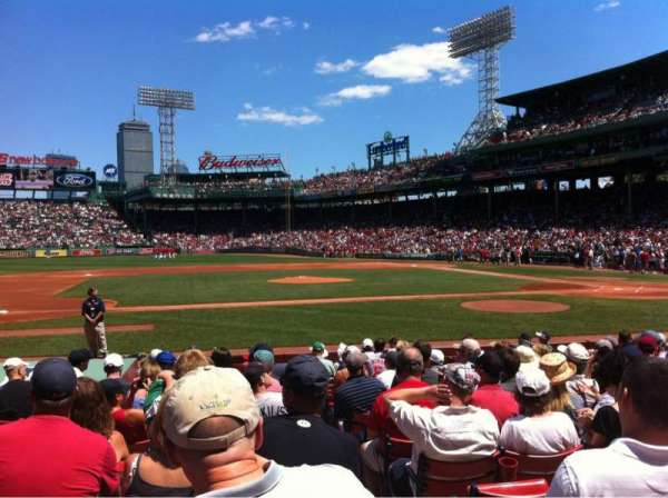 Fenway Park, section: Field box 61, row: M