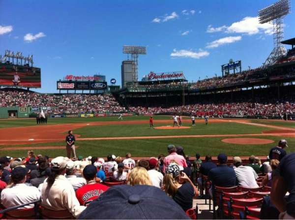 Fenway Park, section: Field box 59, row: M