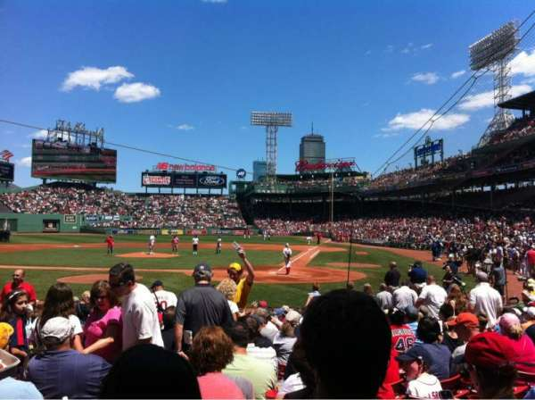 Fenway Park, section: Field box 49, row: M