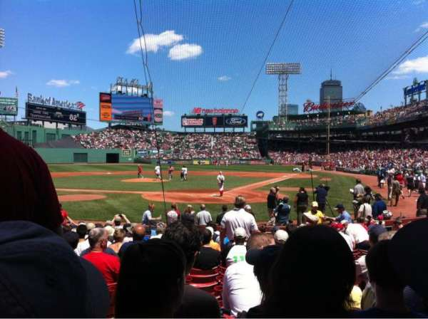 Fenway Park, section: Field box 48, row: M