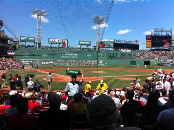 Fenway Park, section: Field box 41, row: M