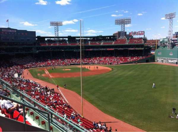 Fenway Park, section: Right Field Roof Deck Box 41, row: C, seat: 1