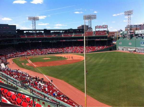 Fenway Park, section: Right Field Roof Deck Box 37, row: E, seat: 1