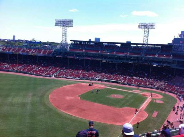 Fenway Park, section: Pavilion Box 18, row: E, seat: 18