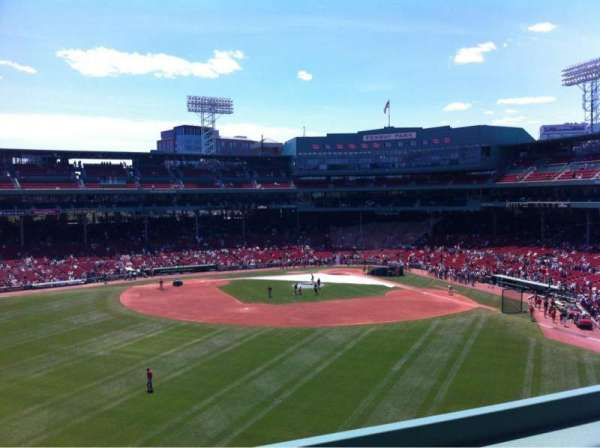 Fenway Park, section: Green Monster 7