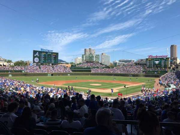 Wrigley Field, section: 220, row: 6, seat: 108