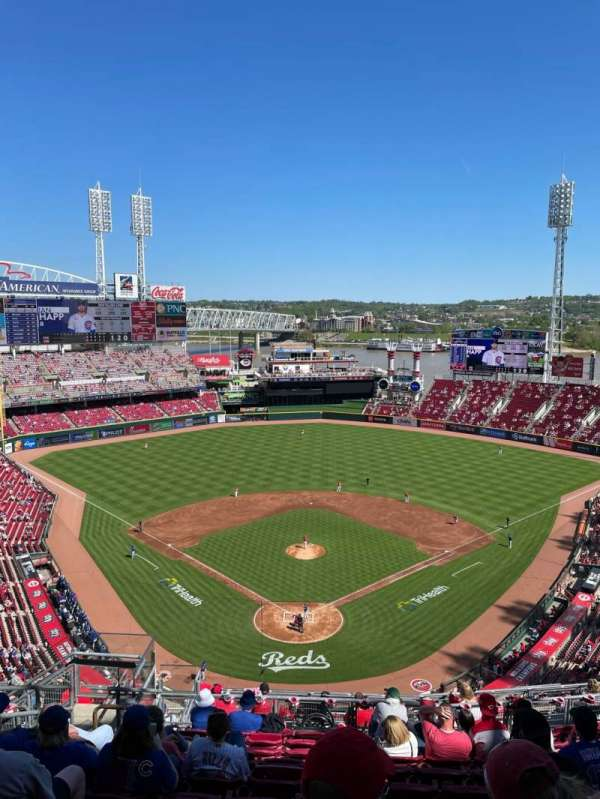 Great American Ball Park, section: 524, row: K, seat: 17