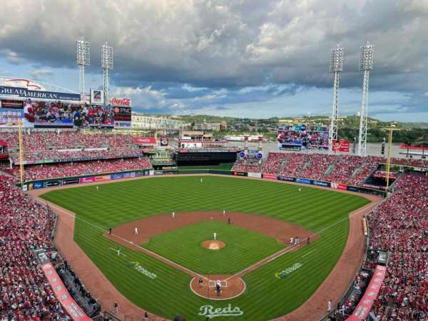 Great American Ball Park, section: 523, row: C, seat: 6
