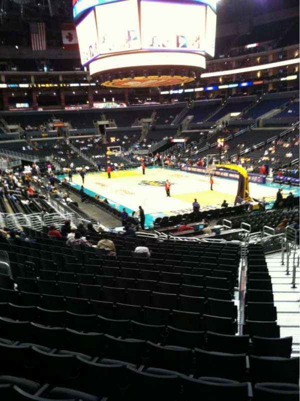 Staples Center, section: 108, row: 20, seat: 1